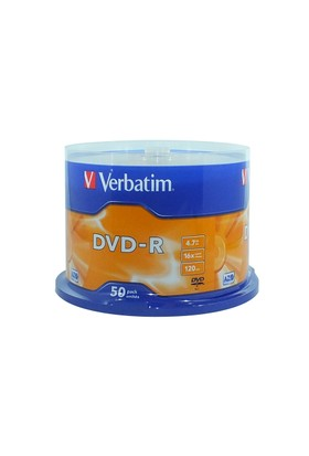 Verbatim 4.7 Gb 16X 50Li Cakebox Dvd-R