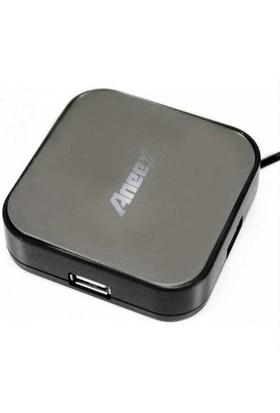 Aneex E-B640 Usb 2.0 4 Port Usb Çoklayıcı