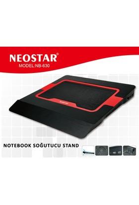 Neostar Nb-630 Kırmızı 2Led Notebook Soğutucu Stand