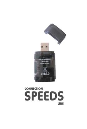 C.Speeds Lıne Cr-12 Usb 2.0 Harici Kart Okuyucu