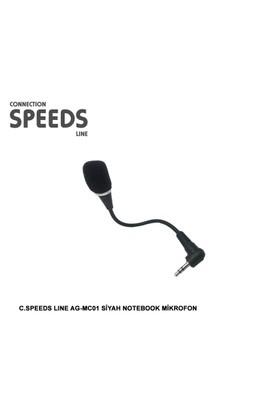 C.Speeds Lıne Ag-Mc01 Siyah Notebook Mikrofon
