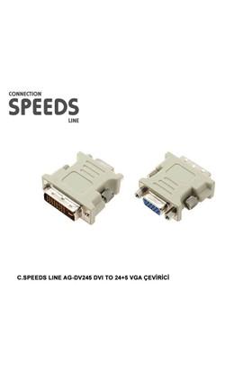 C.Speeds Lıne Ag-Dv245 Dvı To 24+5 Vga Çevirici