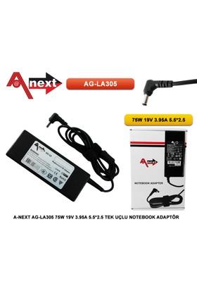 Techas Ag-La305 75W 19V 3.95A 5.5*2.5 Tek Uçlu Notebook Adaptör Toshıba