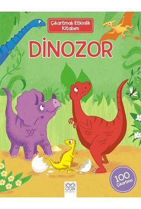 Çıkartmalı Etkinlik Kitabım: Dinozor - David Hitch