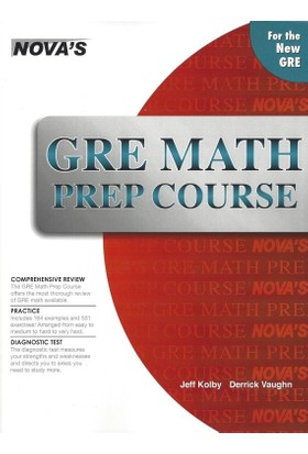 Nova'S Gre Math Prep Course
