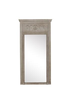 Ahşap Büyük Vizon Ayna