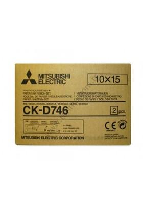 Mitsubishi CK-D746 4x6 (10x15) Termal Kağıt