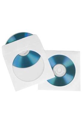Marka Cd Zarfı Pencereli Beyaz Zarf Ölçüleri 12,5 x 12,5 cm 500 Adet