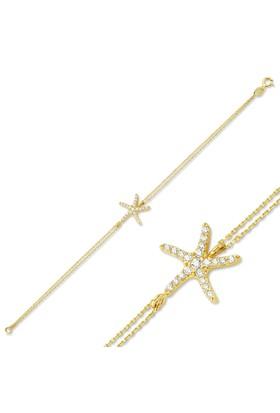 Glorria Altın Deniz Yıldızı Bileklik