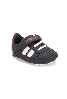 U.S. Polo Assn. 299651 Beyaz Unisex Çocuk Sneaker Ayakkabı