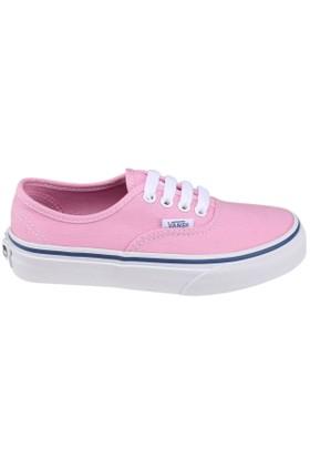 Vans Authentic Mavi Pembe Kız Çocuk Sneaker