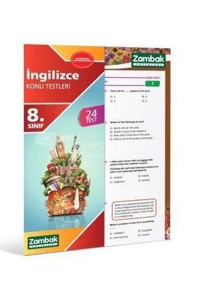 Zambak 8.Sınıf İngilizce Konu Testi ( Yeni Müfredat )