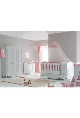 Belis Akadia Büyüyen Beşikli Bebek Odası Takımı