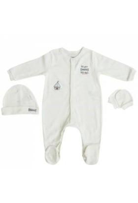 İdil Baby 8064 3'Lü Tulum Beyaz