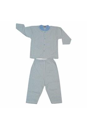 Sebi Bebe Pijama Takımı Yaldızlı