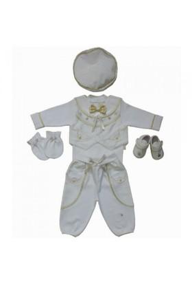 Fory Baby 1135 Altın Yıldızlı 6'Lı Erkek Mevlüt Takımı