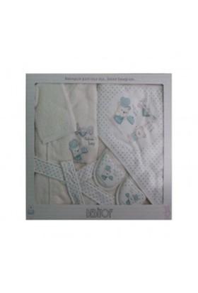 Baby Bebitof 3177 Aşçı Ayıcık Bornoz Seti