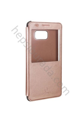 Case 4U Baseus Samsung Galaxy Note Fan Edition FE / Note 7 Sunie Series Pencereli Kılıf Rose Gold