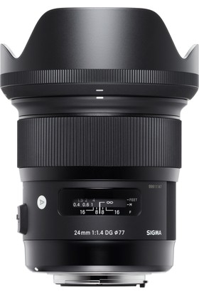 Sigma 24mm F1.4 DG Hsm ART Canon Uyumlu Objektif 401954