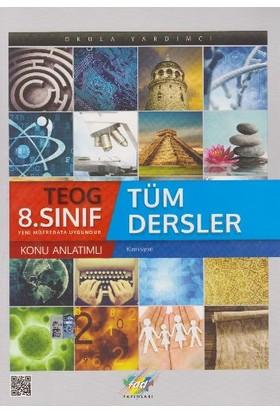 Fdd Yayınları 8. Sınıf Tüm Dersler Konu Anlatımlı - Ahmet Geçgel