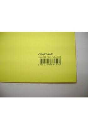 Umix Craft & Arts Fosforlu Fon Kartonu 160Gr 50*70Cm Sarı