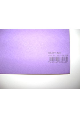 Umix Craft & Arts Fon Kartonu 160Gr 50*70Cm Mor
