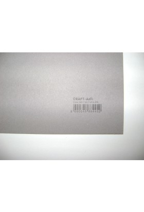 Umix Craft & Arts Fon Kartonu 160Gr 50*70Cm Gri
