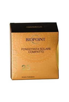 Biopoint Güneş Korumalı Kompakt Fondöten Caramello SPF25 6.5ml - Karamel