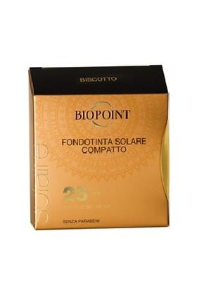 Biopoint Güneş Korumalı Kompakt Fondöten Biscotto SPF25 6.5ml - Bisküvi