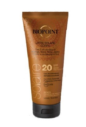 Biopoint Güneş Koruyucu Vücut Losyonu SPF30 200ml