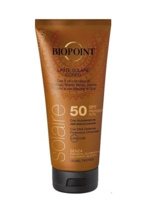 Biopoint Güneş Koruyucu Vücut Losyonu SPF50 200ml
