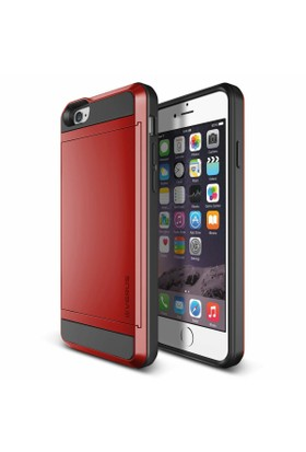 Verus iPhone 6/6S 4.7 Damda Slide Kılıf Crimson Red
