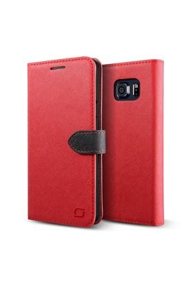 LIFIC Samsung Galaxy Note 5 Saffiano Diary Kılıf Brown