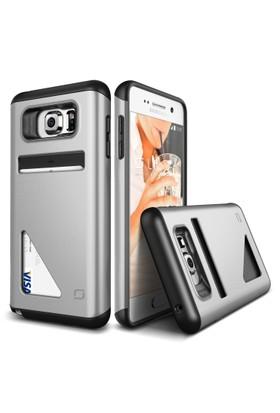 LIFIC Samsung Galaxy Note 5 Mighty Card Defense Kılıf Light Silver