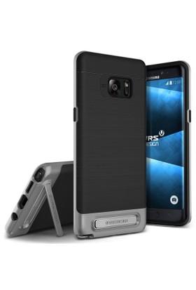 Verus Samsung Galaxy Note FE Fan Edition High Pro Shield Kılıf Steel Silver