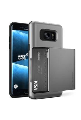 Verus Samsung Galaxy Note FE Fan Edition Damda Glide Kılıf Steel Silver