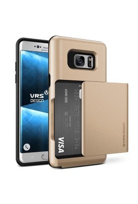 Verus Samsung Galaxy Note FE Fan Edition Damda Glide Kılıf Shine Gold