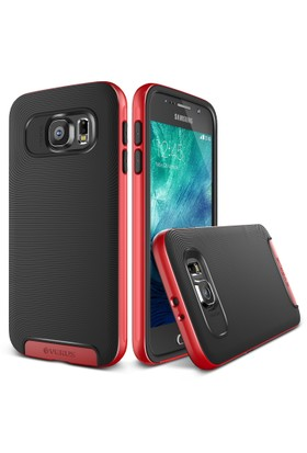 Verus Galaxy S6 Case Crucial Bumper Kılıf Crimson Red