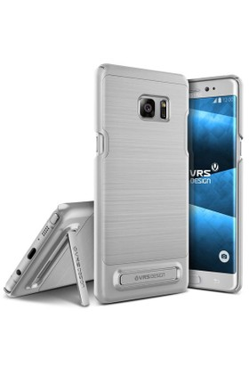 Verus Samsung Galaxy Note FE Fan Edition Simpli Lite Kılıf Light Silver