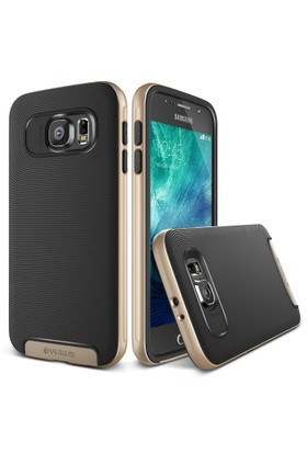 Verus Samsung Galaxy S6 Case Crucial Bumper Kılıf Shine Gold