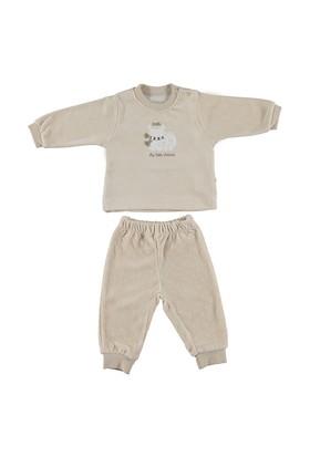 Bebetto F862 Little Friend Kadife Bebek Pijama Takımı