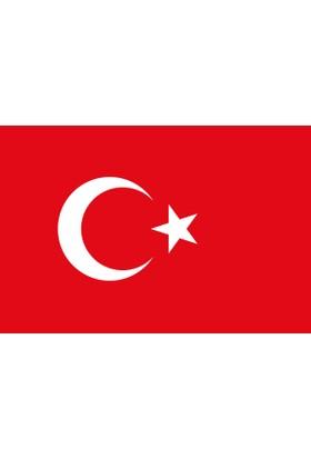 Türk Bayrağı 50x75 cm Alpaka Kumaş