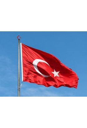 Türk Bayrağı 150x225 cm Raşel Kumaş