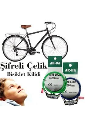 Helen's Şifreli Çelik Bisiklet Kilidi