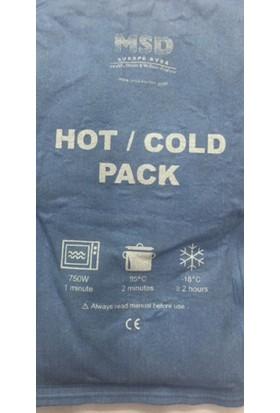 Msd Hot Cold Pack Sıcak Soğuk Paket Yumuşak Yüzey 15X25 Cm