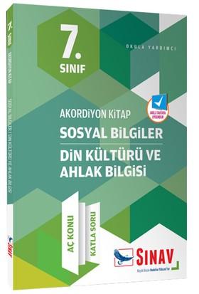 Sınav Dergisi Yayınları 7.Sınıf Akordiyon Serisi Sosyal Bilgiler Din Kültürü Ve Ahlak Bilgisi Aç Konu Katla Soru