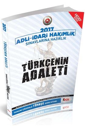 Hür Yayınları Adli İdari Hakimliği Türkçenin Adaleti Tamamı Çözümlü Soru Bankası