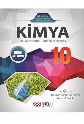 Nitelik Yayınları 10.Sınıf Kimya Konu Anlatımlı