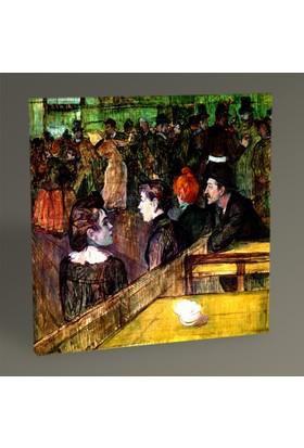 Tablo360 Henri de Toulouse- Lautrec At the Moulin de la Galette 30 x 30