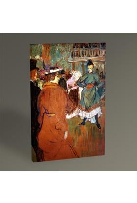 Tablo360 Henri de Toulouse- Lautrec The Start of the Quadrille 45 x 30